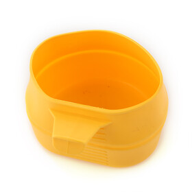 Wildo Fold-a-cup camping tableware yellow